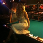 Pamela Anderson Wants It On The Pool Table