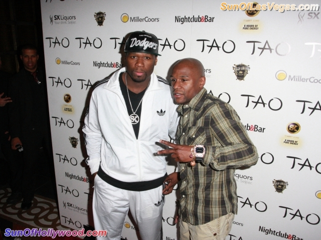 """Curtis """"50 Cent"""" Jackson and Floyd """"Money"""" Mayweather ... Changing The World... One Million Dollars At A Time"""
