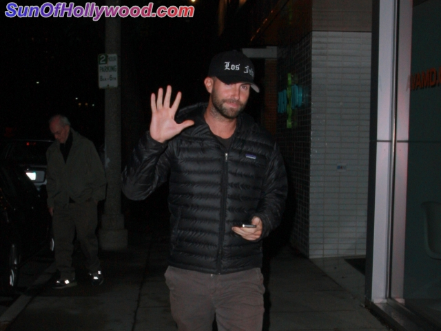 EXCLUSIVE: Adam Levine And His Chinese Family Take-Out