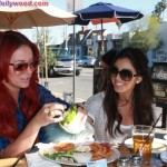 Making The Lunch Date 2... Starring Aubrey O'Day and Melissa Molinaro... And A Bigazz Chicken Wrap
