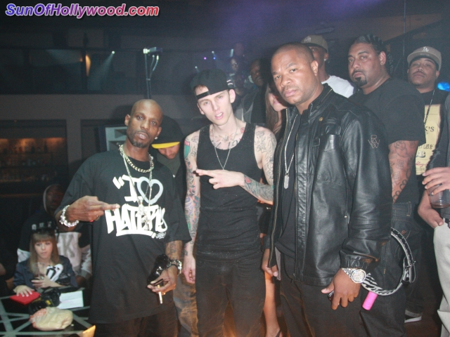 DMX... Machine Gun Kelly And Xzibit Don't Dance... Or Smile