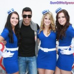 Adam Sabbagh Stays Fly With The Ladies Of Pan Am... Damn They Fine!!