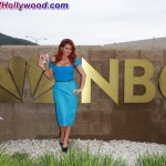 Aubrey O'Day With A Wrecking Ball Powerful Enough To Knock Out NBC