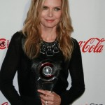 the original scarface jailbait, Michelle Pfeiffer with her CinemaCon thingy