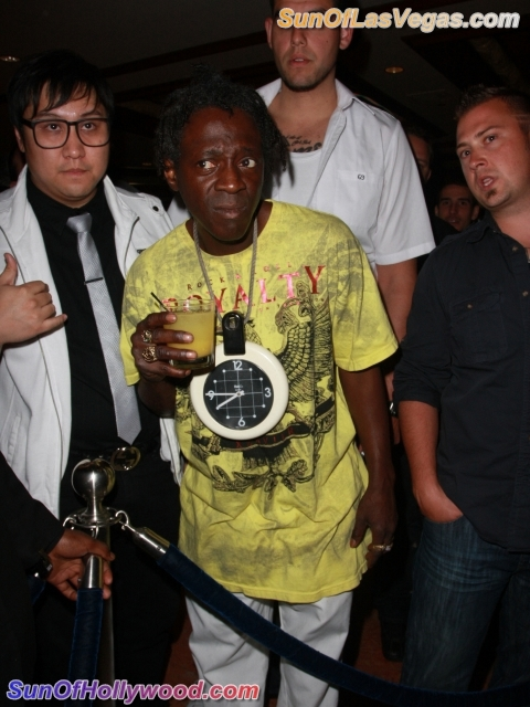 Flavor Flav Brings His Flavor Out To See Him Some Cee-Lo Green