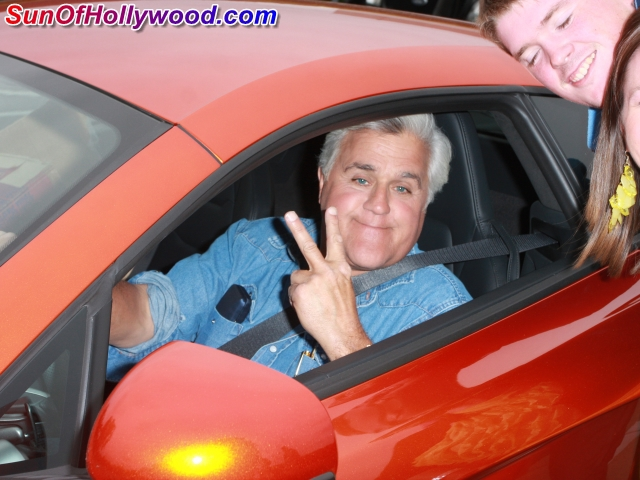 Jay Leno In His Twelve Thousandth Two Hundred And Fifty Thousand Dollar Car