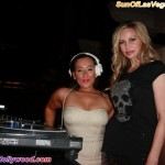 DJ Niena Drake and Christina Fulton
