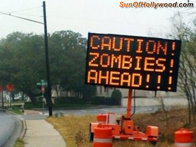 Zombies.  They're Just A Sign Of The Times