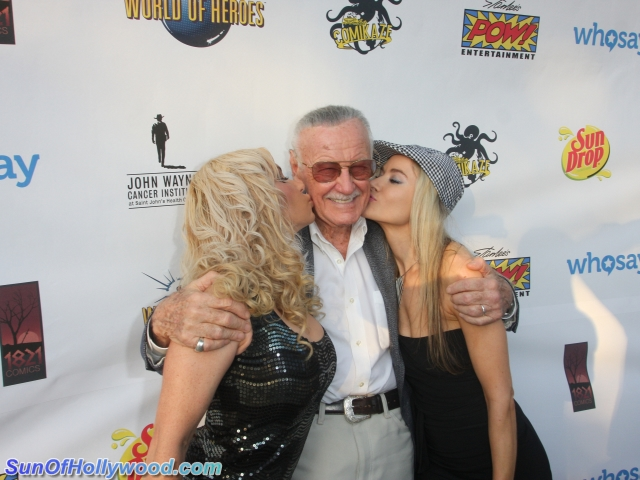 With Great Power Comes Great Hottness Surrounding Stan Lee
