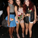 Logan Browning, Francia Raisa And E.B. Wright... A Rose Held By Any Other Dames Could Never Be As Sweet