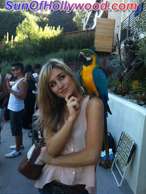 Even Parrots Around The Globe Agree... Christina Collard Is Too Damn Fly