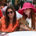 Phoebe Price with Leslie Benaroch of Public Magazine from France. Oh, and don't forget Henry