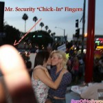 "Mr. Security ""Chick-In"" Fingers Didn't Like How This Image Will Linger"