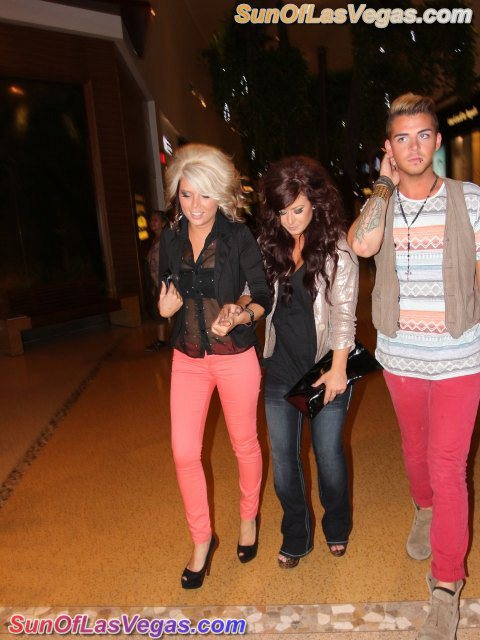 Chelsea Houska Continues The B-Day Celebrations At Chippendales In Las Vegas
