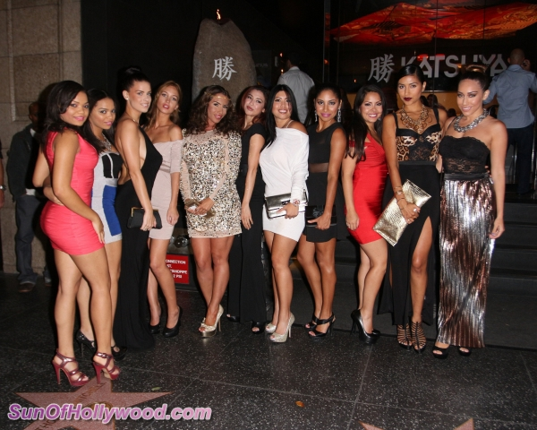 Nikki Giavasis & Her Goddess Girls... In The Hottest Heavenly Takeover Hollywood Has Ever Laid Eyes On