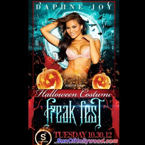 Dont Party With The Rest.. Run To Freak Fest.  With Daphne Joy, It's Sure To Be The Best