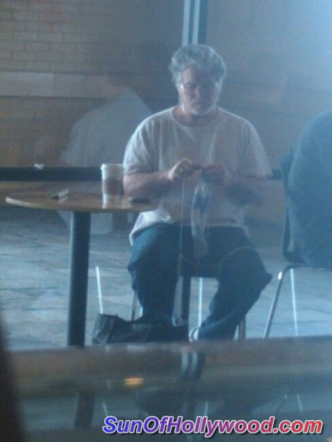 George Lucas Will Now Have A Whole Lot More Time And Money To Knit A Whole Lot More Bigazz Sweaters At Starbucks