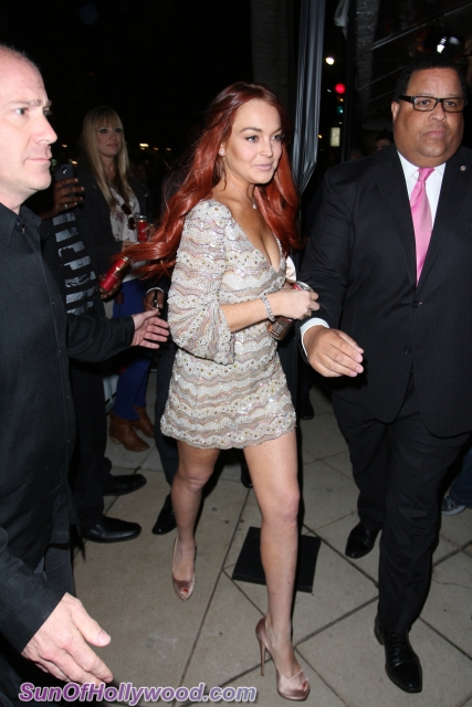 Lindsay Lohan Arrested… Again… For Allegedly Fighting With Woman In New York Club