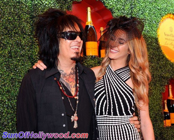 Nikki Sixx and Courtney Bingham... Livin Life And Lovin It