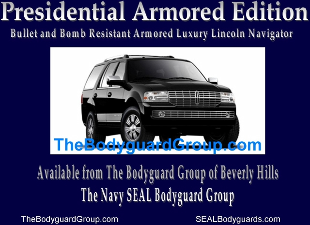 The Bodyguard Group Exercises Your Right To Bear Arms… With A Level 10 Armored Lincoln Navigator