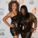 Brittany Williams & Mechelle Tucker in A Sequence of Golden Sequins