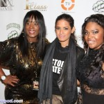 Mechelle Tucker & Publicist Dominique Simpson With Rocsi Rockin Red Carpets