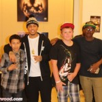 "Kirko Bangz with 3 Kids from Phoenix who Wanted me to put them in a ""Magazine"".  They're now on Several Online"