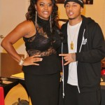 Kirko Bangz with Publicist Dominique Simpson of CMPR-Inc.... Puttin in Werk !!
