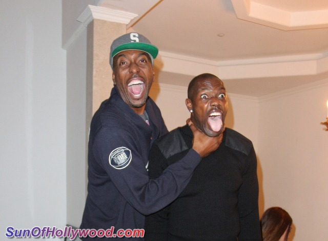 John Salley & Terrell Owens.. The Unsuspecting Life Of Nikki Giavasis's Party