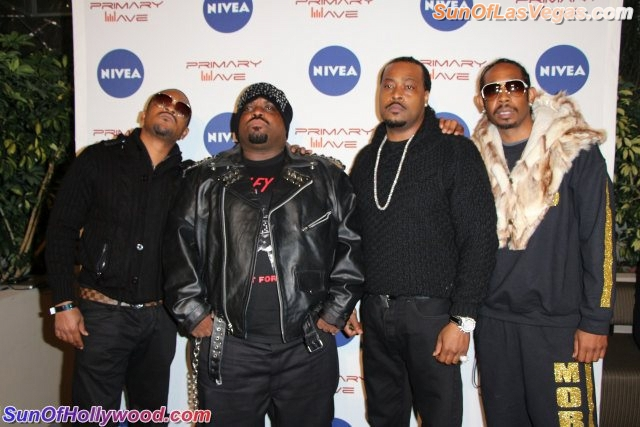 T-Mo, Cee-Lo, Khujo & Big Gipp... The Dungeon Family's Las Vegas Takeover Has Begun !!