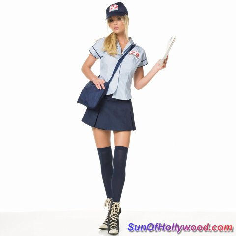 I Think if we had More Mail Carriers that Looked like Her... We'd have 3 Deliveries a Day.. Deliverin Mah Babies !!!
