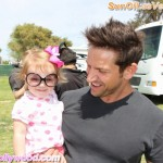 It was only 90 Degrees Today... So the Daddy side of Jeff Timmons Decided to Play