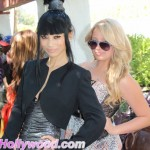 Bai-Ling And Maddie Miller... Lookin Too Cool For Ray-Ban School