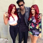 The Howe Twins, Carla & Melissa with Wiz Khalifa... A Mac & Devin High School Reunion