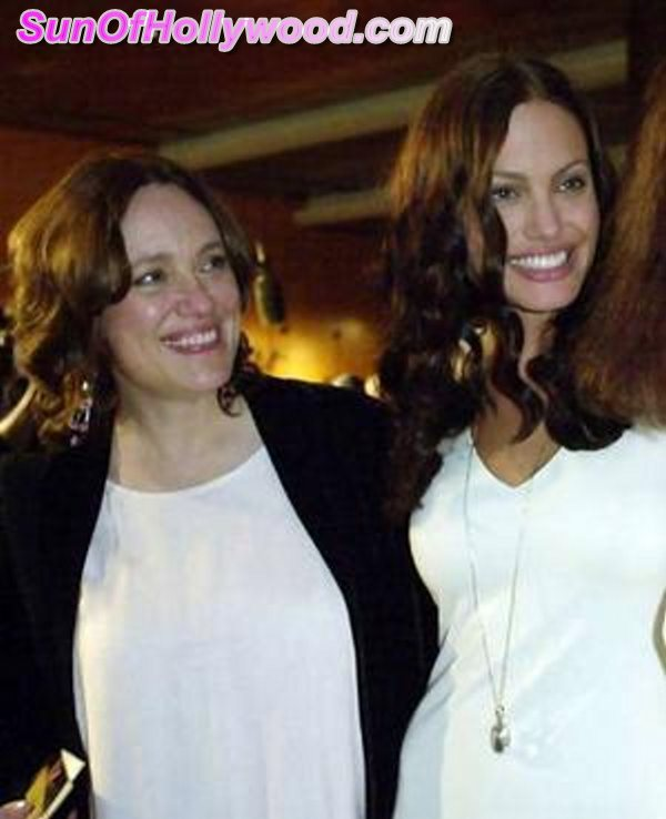 Angelina Jolie With Her Mother Marcheline Bertrand.. The Inspiration Of Her Life... And Her Life Saving Decision