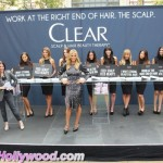 Heidi Klum And Her Clear Hair Krew