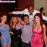L to R: Carla Howe, Yovana, Victor Ortiz, Sam Jones, Melissa Howe.. VIP Fam