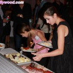 The Underage Crew Gets Their Non-Drinkin' Grub On... Victoria & Sophia Strauss