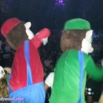 You Know it's a Party When Mario & Luigi Keep The Crowd Hype