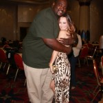 Quinton Aaron Tries To Check Her Blind Side