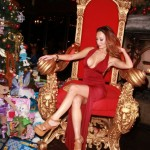 Amy Markham Makes Her Mark With / A Red Hot Dress, Throne & Red Hot Carpet