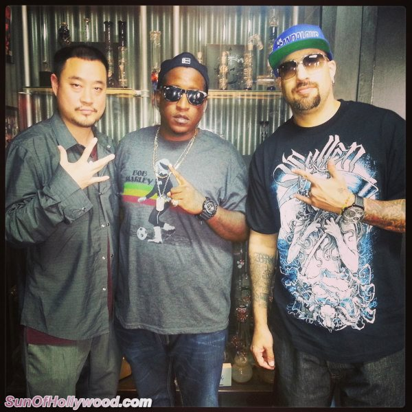 Prophecy, Edidon & B Real.. When Hip-Hop Worlds Combine