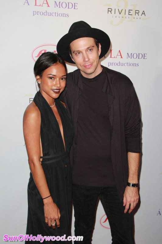 Mike Vensel & Karrueche Tran... The Designer's Poet & His Muse