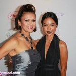Nia Peeples & Karrueche... Double Flamin Fine Dames of Fame