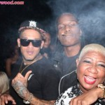 Mac Lucci, Asap Rocky & Luenell Livin It Up In VIP