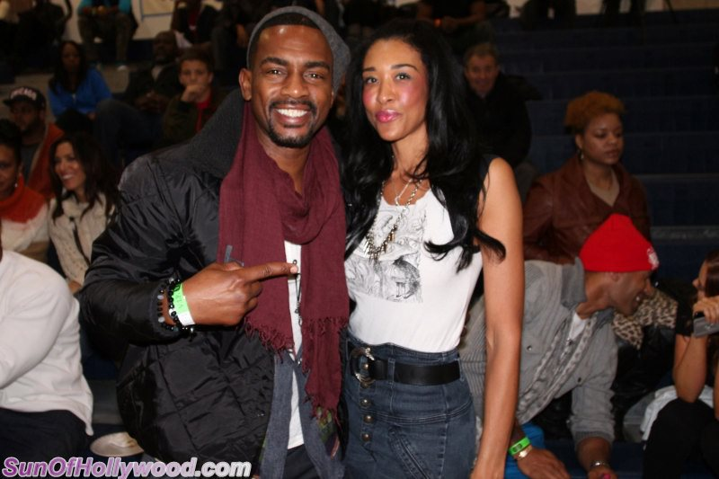 Bill Bellamy & Bo Benton Get Their B-B-B-B-ball On