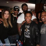 Khloe Kardashian, Tony DeNiro, Game, Justin Combs & Too Short ... Havin A Ball For The Robin Hood Project