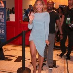 "Ashanti Welcome's Fans at Top Rank's ""Tweet Up"""