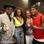 Bishop, Gigi Pink, Peaches & Knotch At The RMC Studios
