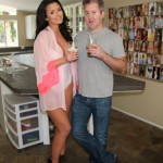 Abigail Ratchford With.. The Man The Myth, The Legend That Is.. @ryanastamendiphotography   ;)